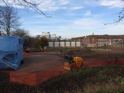 Work starts on the new med school building